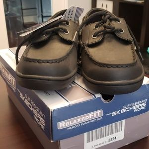 Skechers Slip Resistant Work Shoes